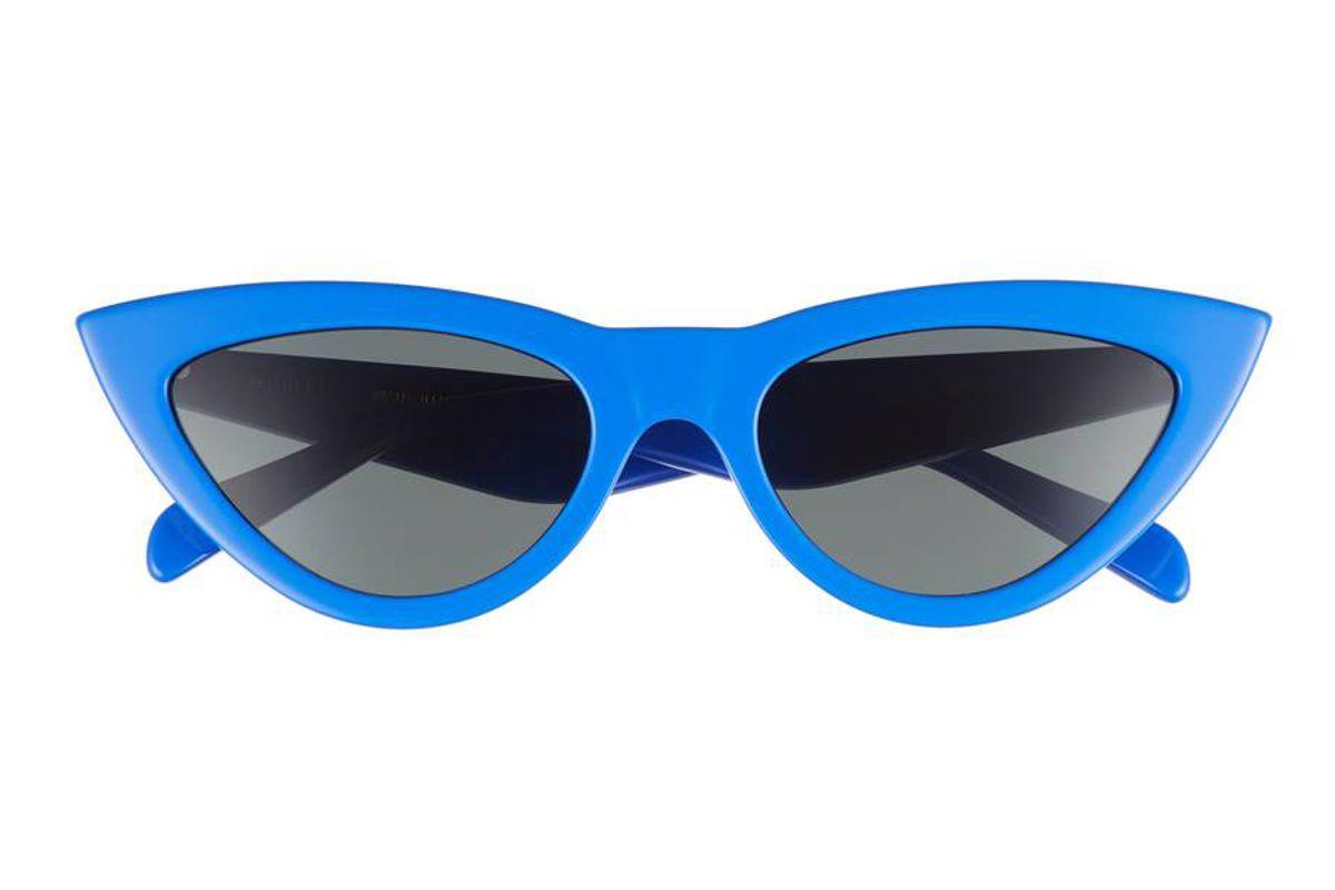 celine 56mm cat eye sunglasses