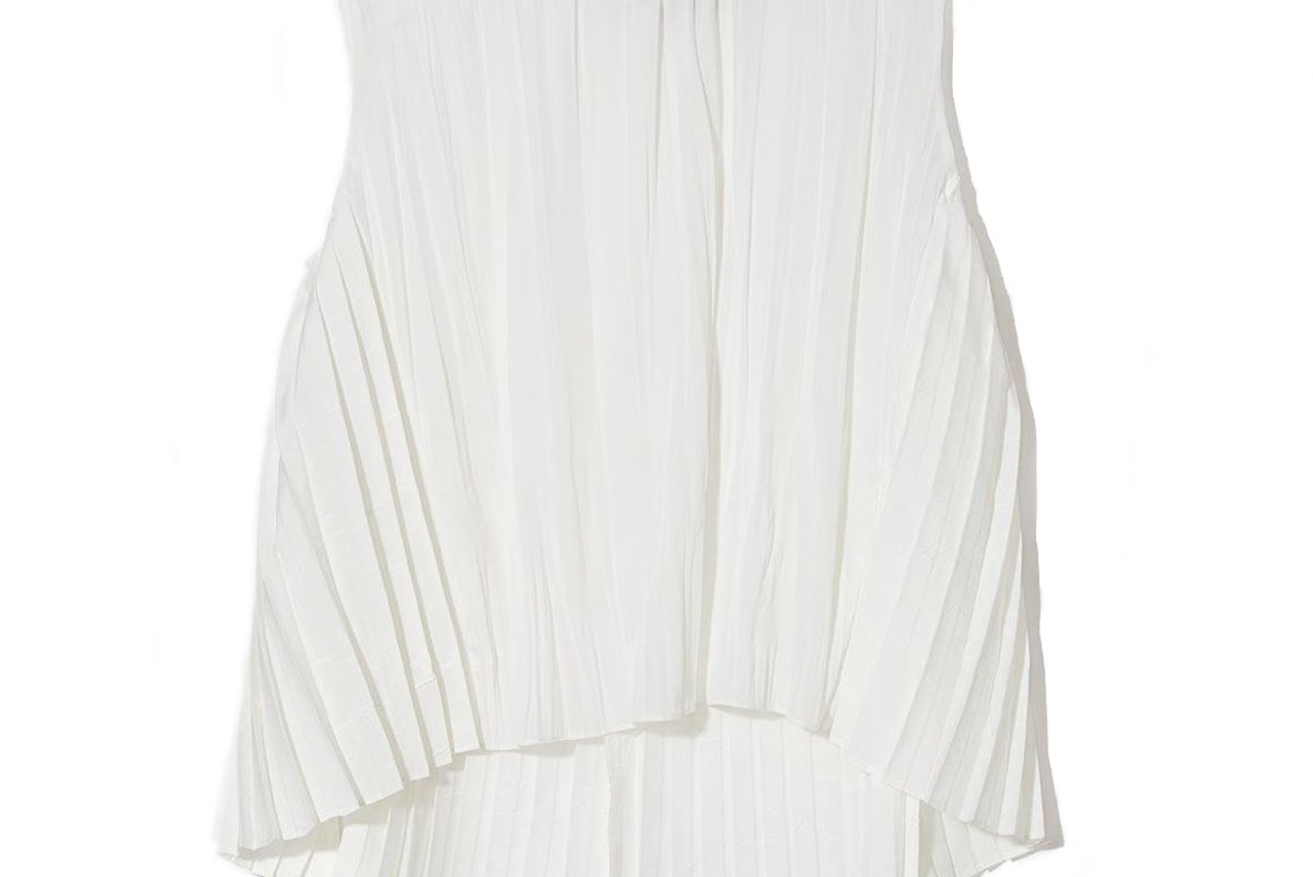 vince pleated shell