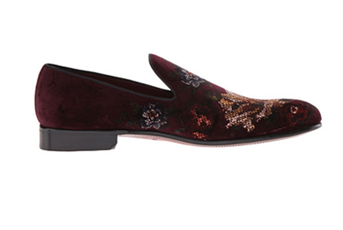 Floral Print-Slippers
