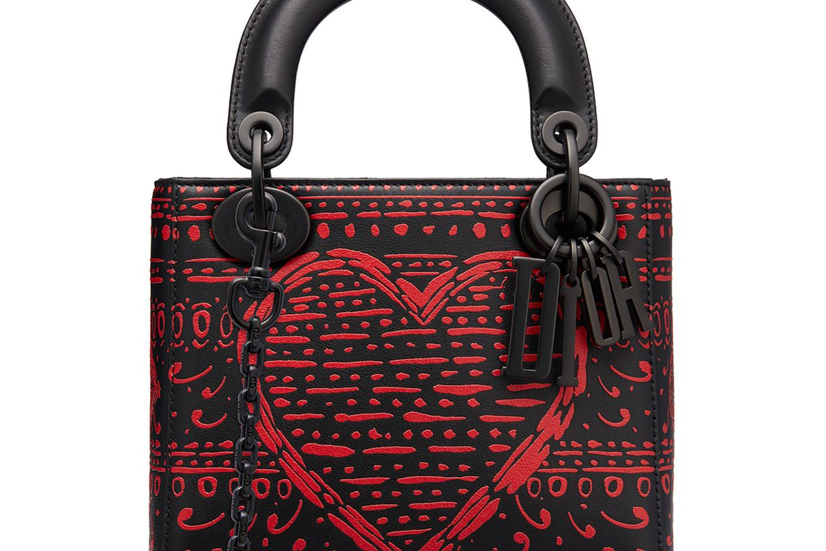 dior micro soft leather lady dior bag