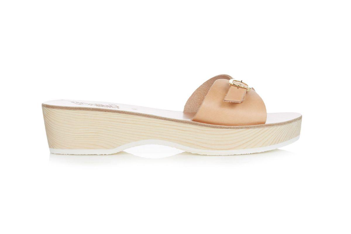 Filia Sabot leather sandals