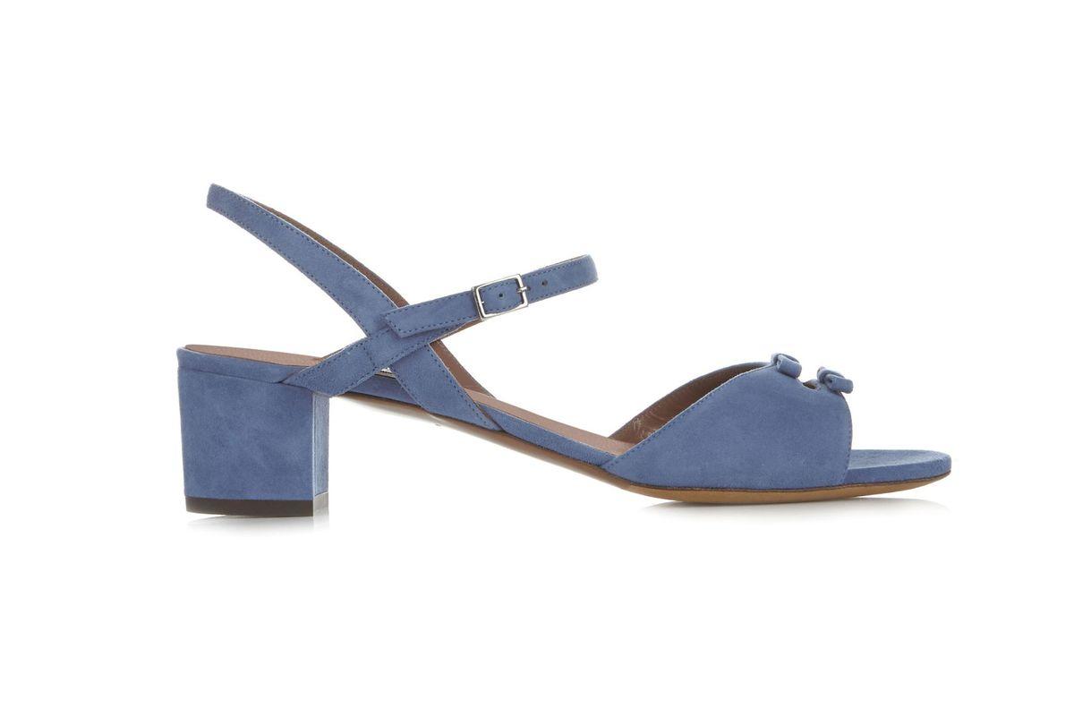 Bonnie multi-bow suede sandals