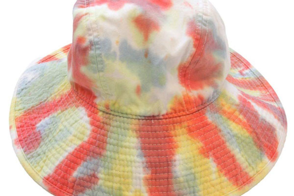kkco vacationer hat in lichen tie dye