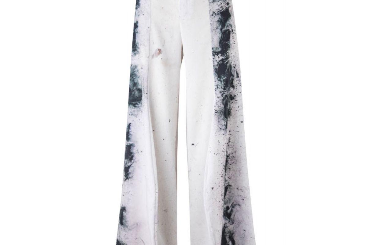 olga piedrahita printed palazzo pants