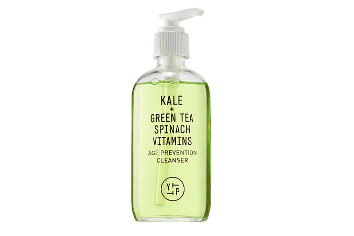 youth to the people kale green tea spinach vitamins age prevention cleanser