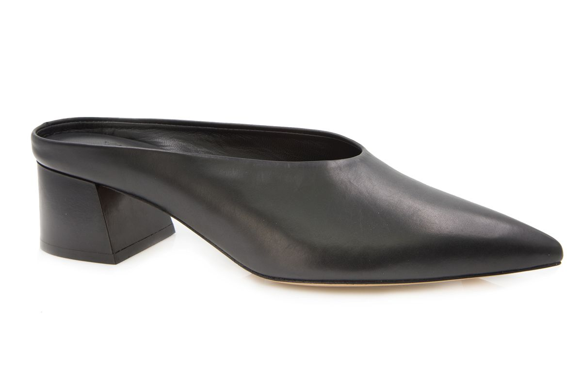 vince ralston leather mules