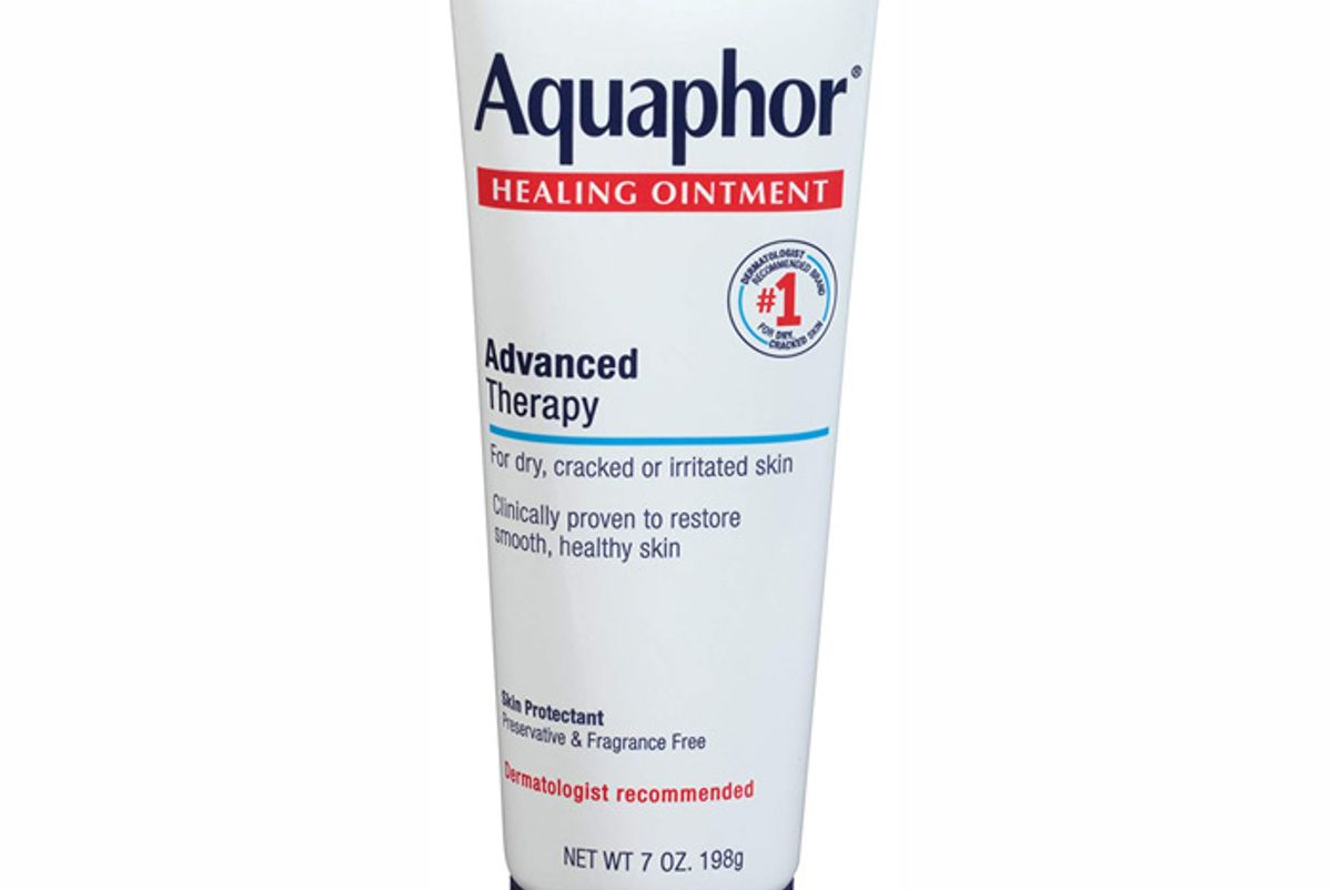 aquaphor healing ointment dry skin moisturizer hands heels elbows lips