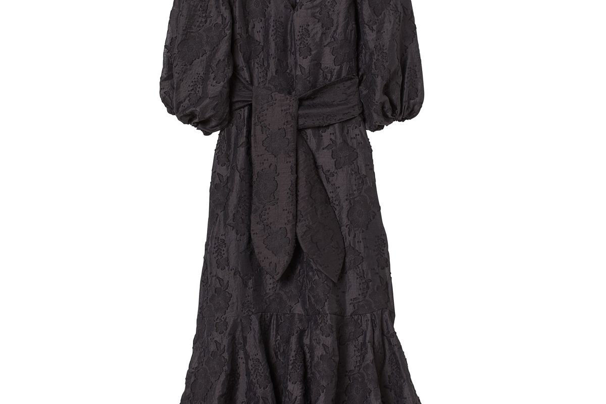 h&m jacquard weave dress