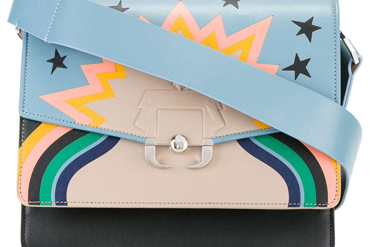 Blue Multi Twiggy Shoulder Bag