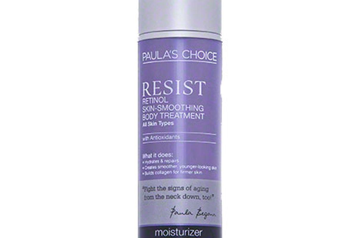 paula choice resist retinol skin smoothing body treatment