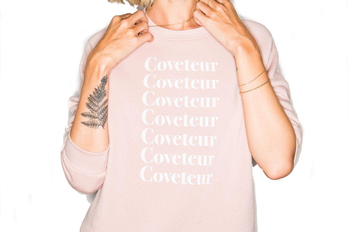 coveteur sweatshirt