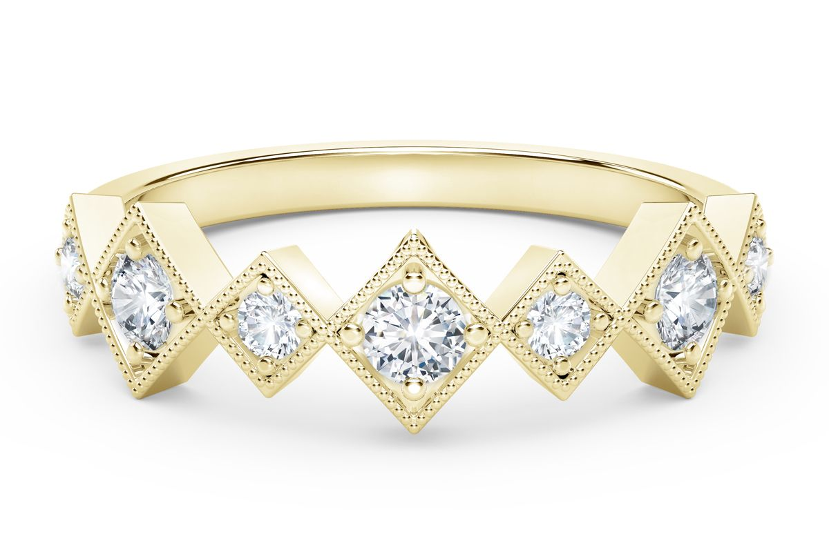 the forevermark tribute collection stackable diamond ring