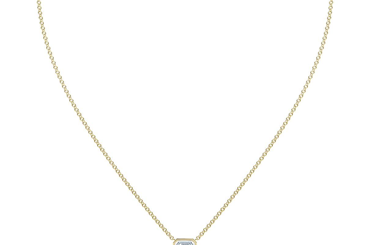 forevermark the tribute collection emerald diamond necklace