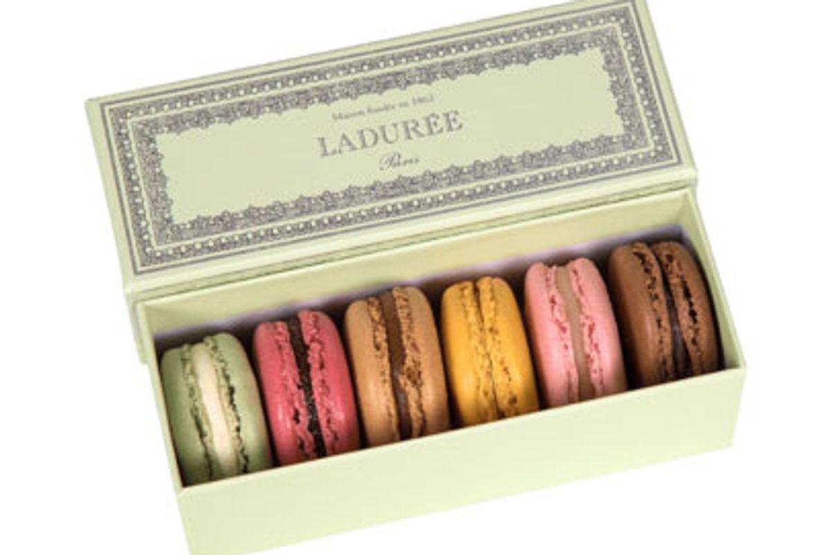 laduree napoleon green gift box
