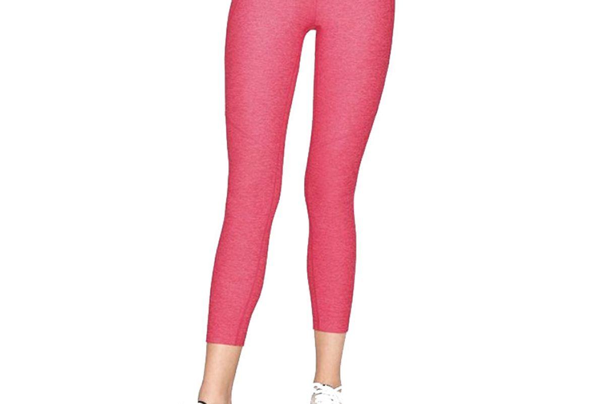 outdoor voices 3 4 warm up leggings in flamingo