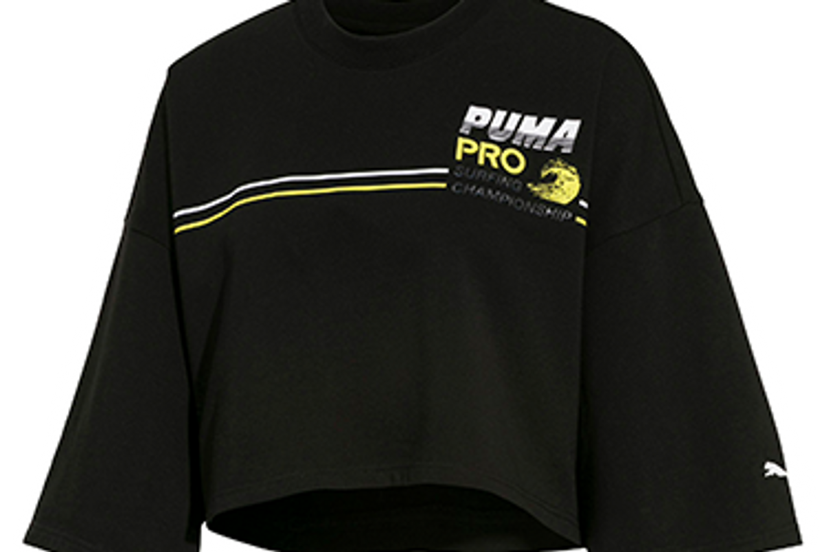 fenty puma by rihanna women's cropped crew neck t-shirt