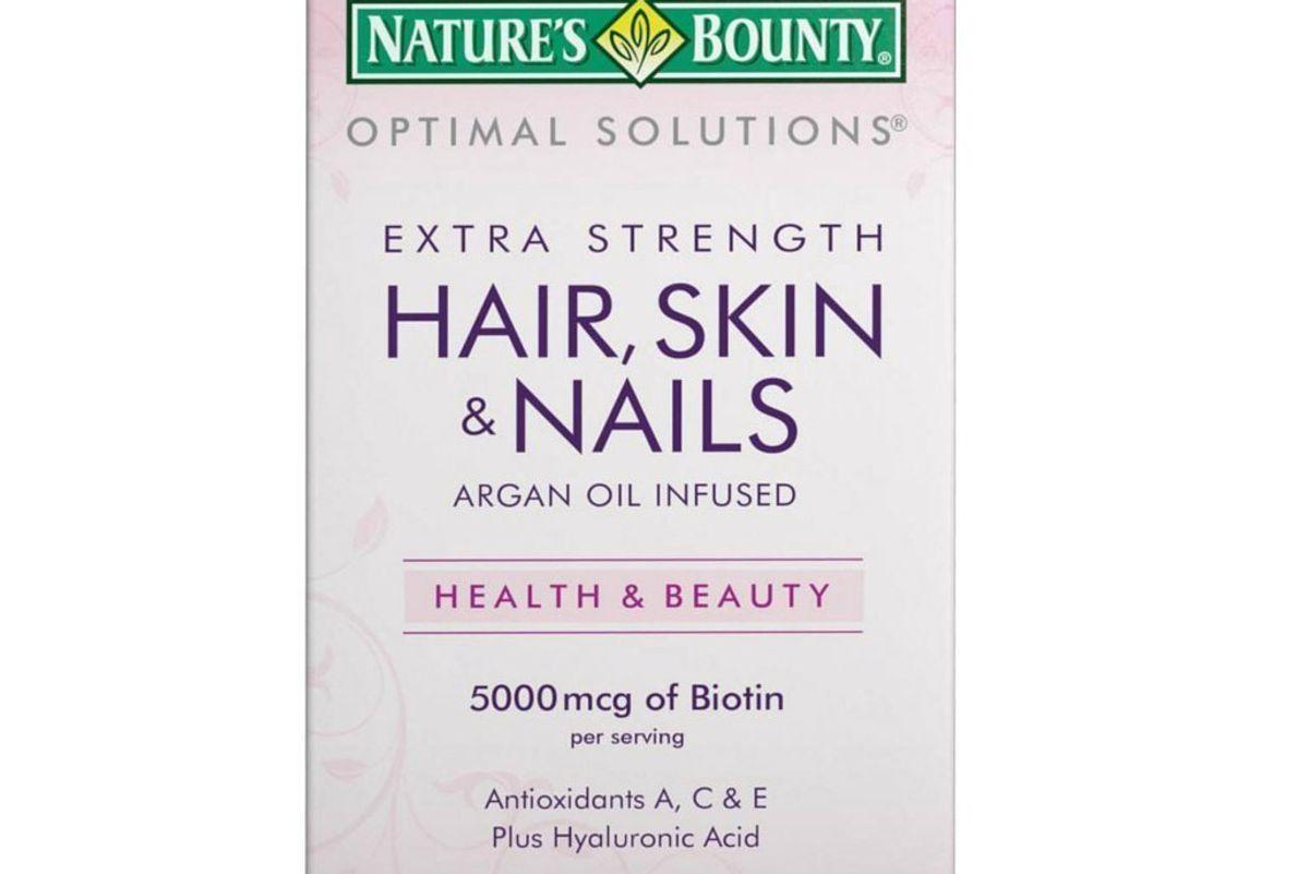 natures bounty hair skin nails