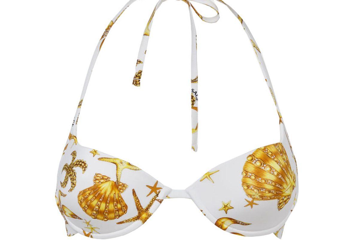 versace tresor de la mer bikini top