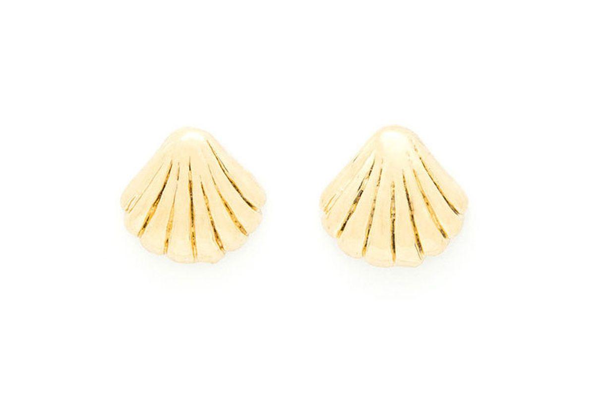 louise damas ondine shell earrings