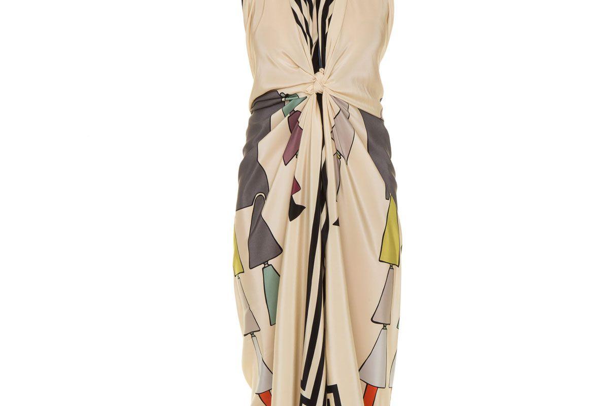 vanda jacintho panneau dress