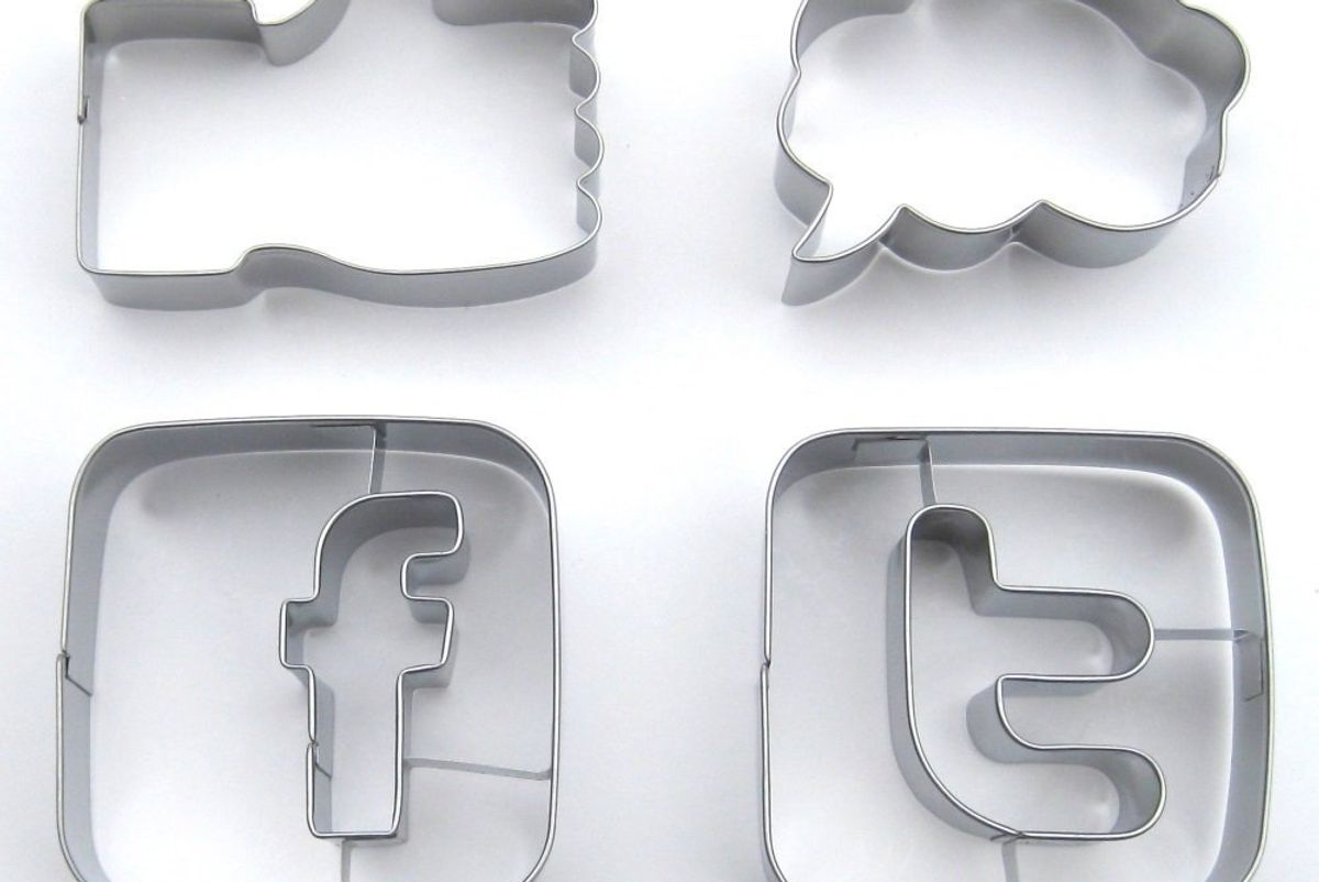 Social Media Cookie Cutter Set