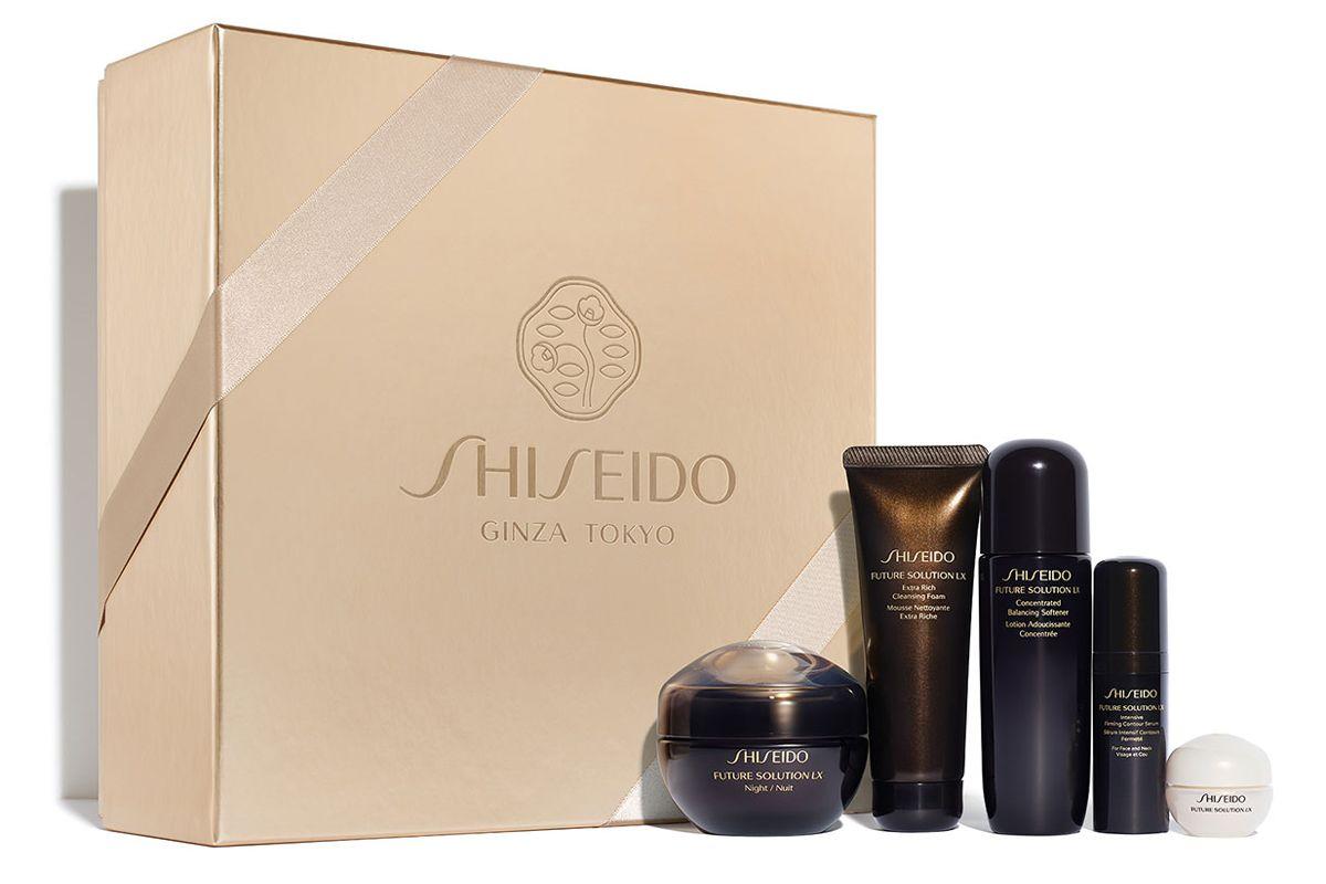 shiseido the luxurious nighttime set