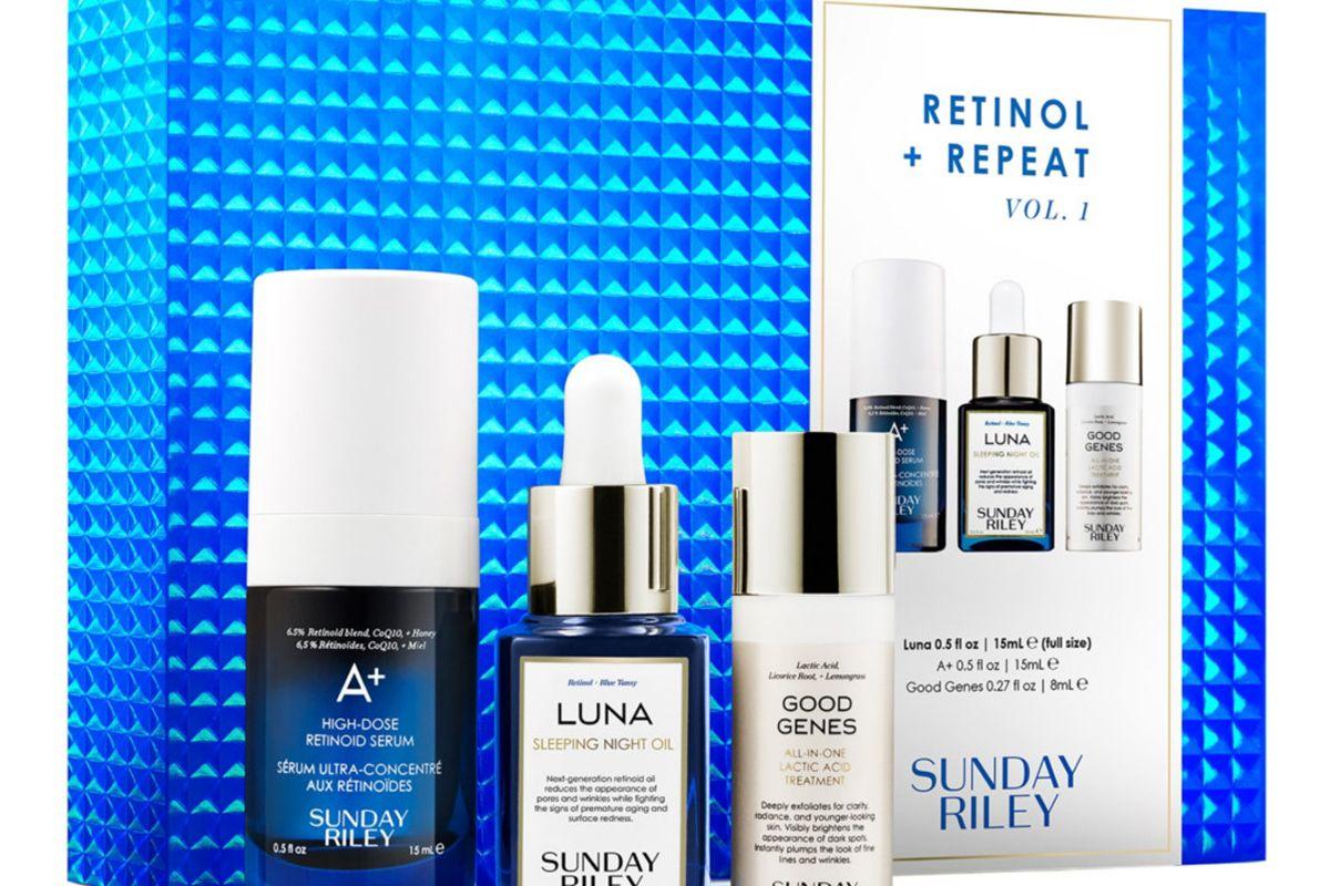 sunday riley retinol and repeat kit vol 1