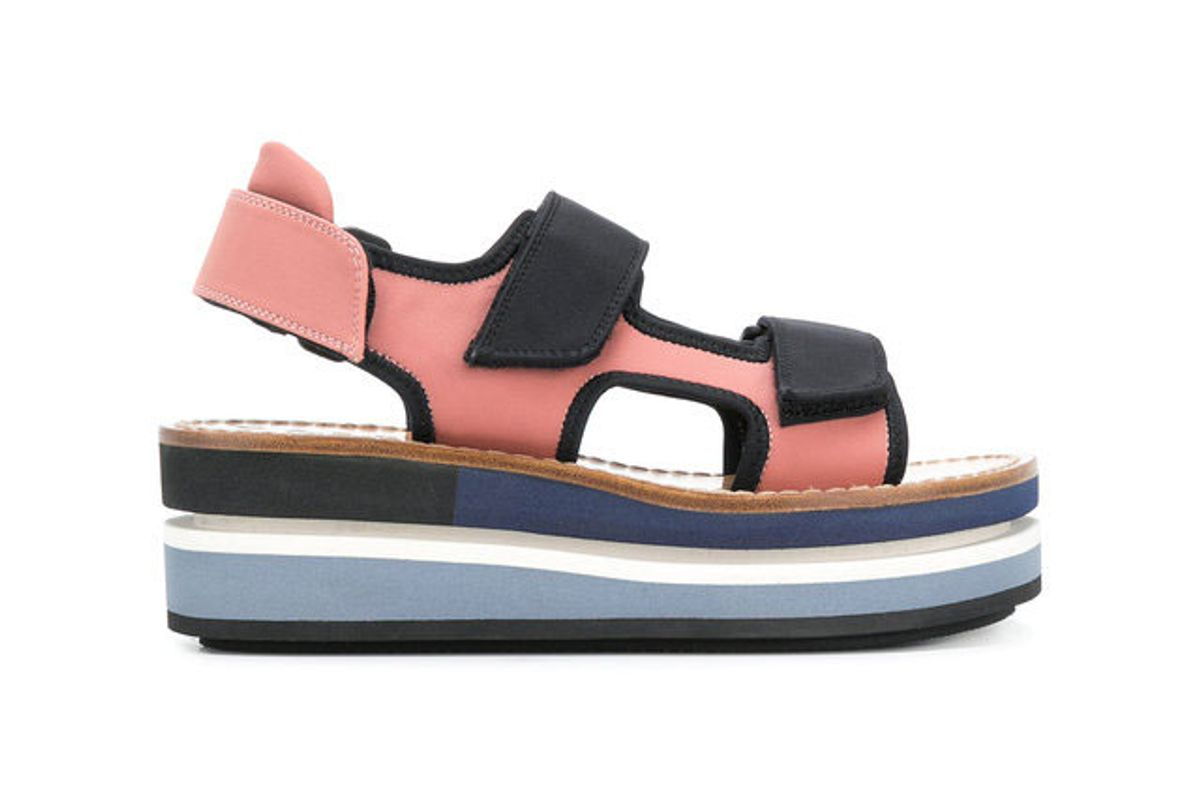 marni flatform velcro sandals