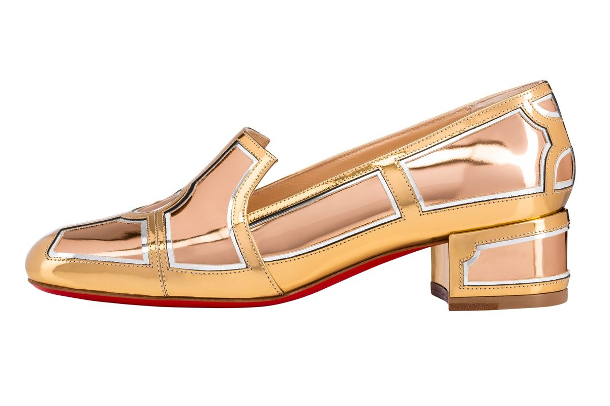 christian louboutin interior flat loafer