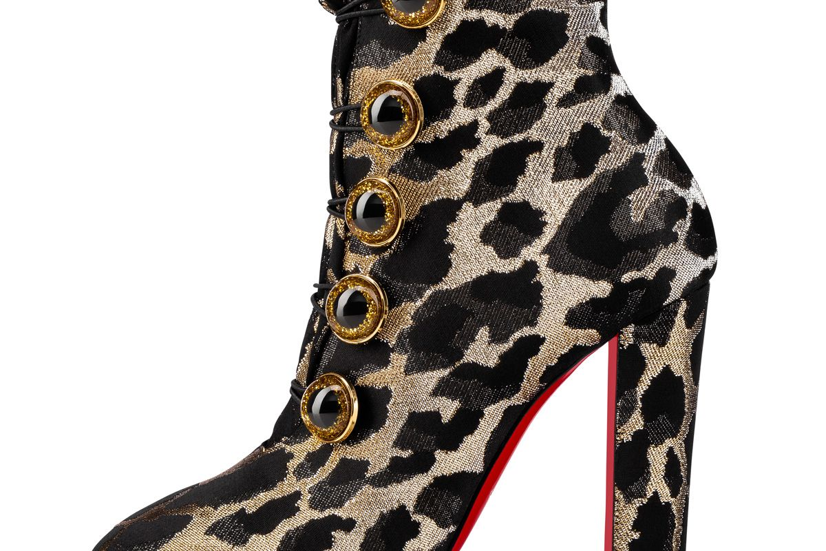 christian louboutin lady see boot