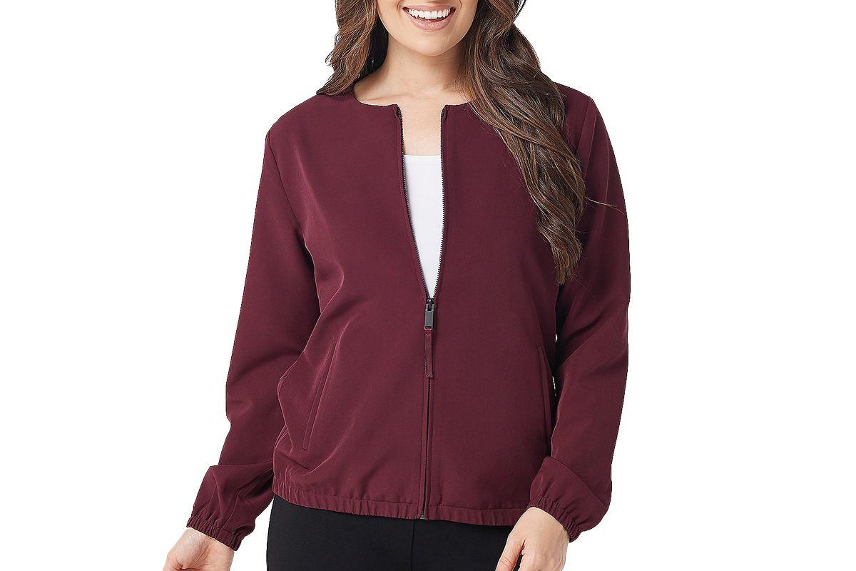 stylelist by micaela soft zip jacket