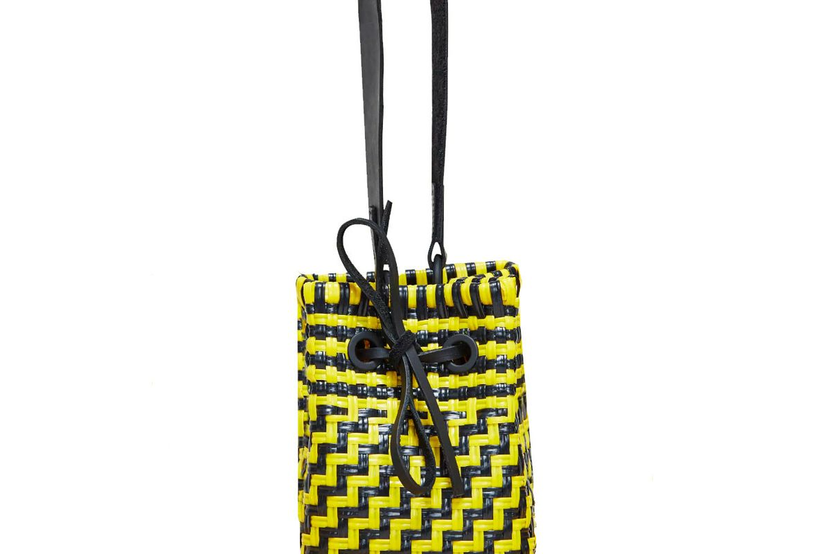 truss party bag in yellow