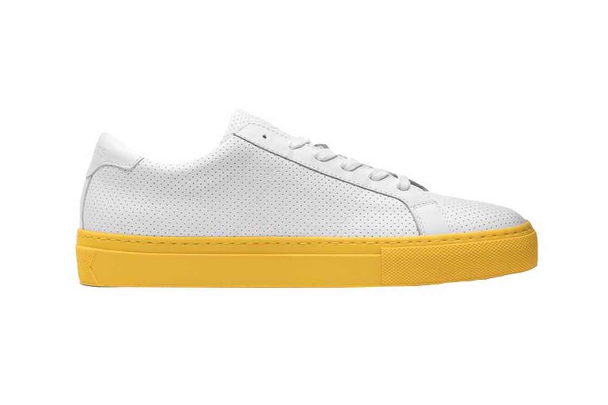 greats the royale reverse perforated sneaker