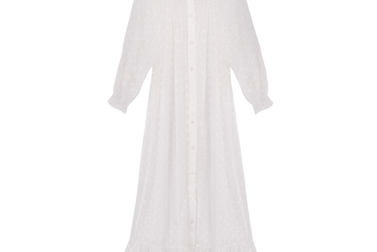sleeper juliette white night gown