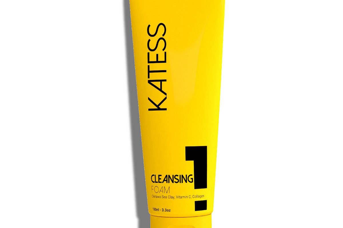 katess day skin care sea clay cleansing foam