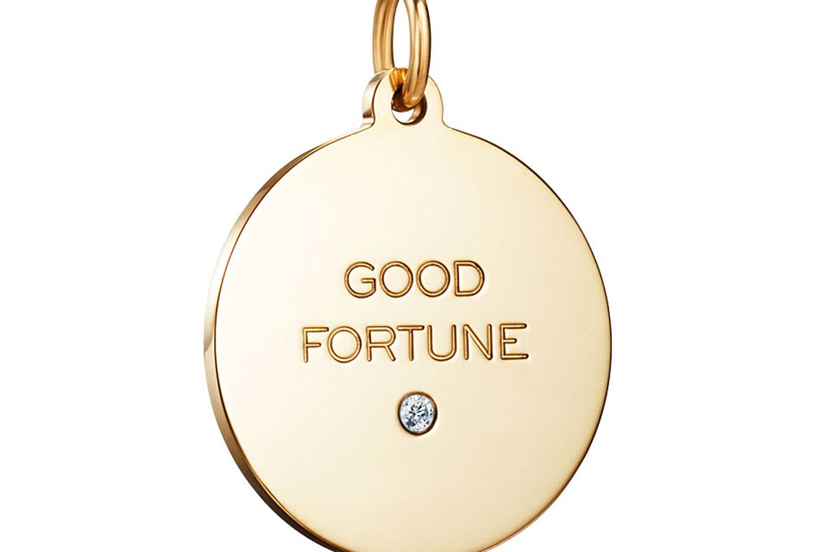 tiffany and co good fortune tag