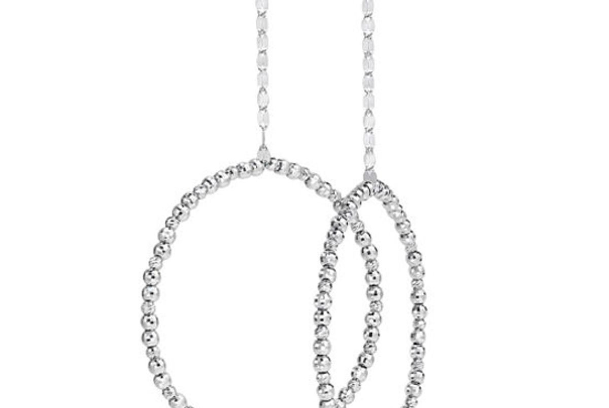 platinum born the limitless drop earrings