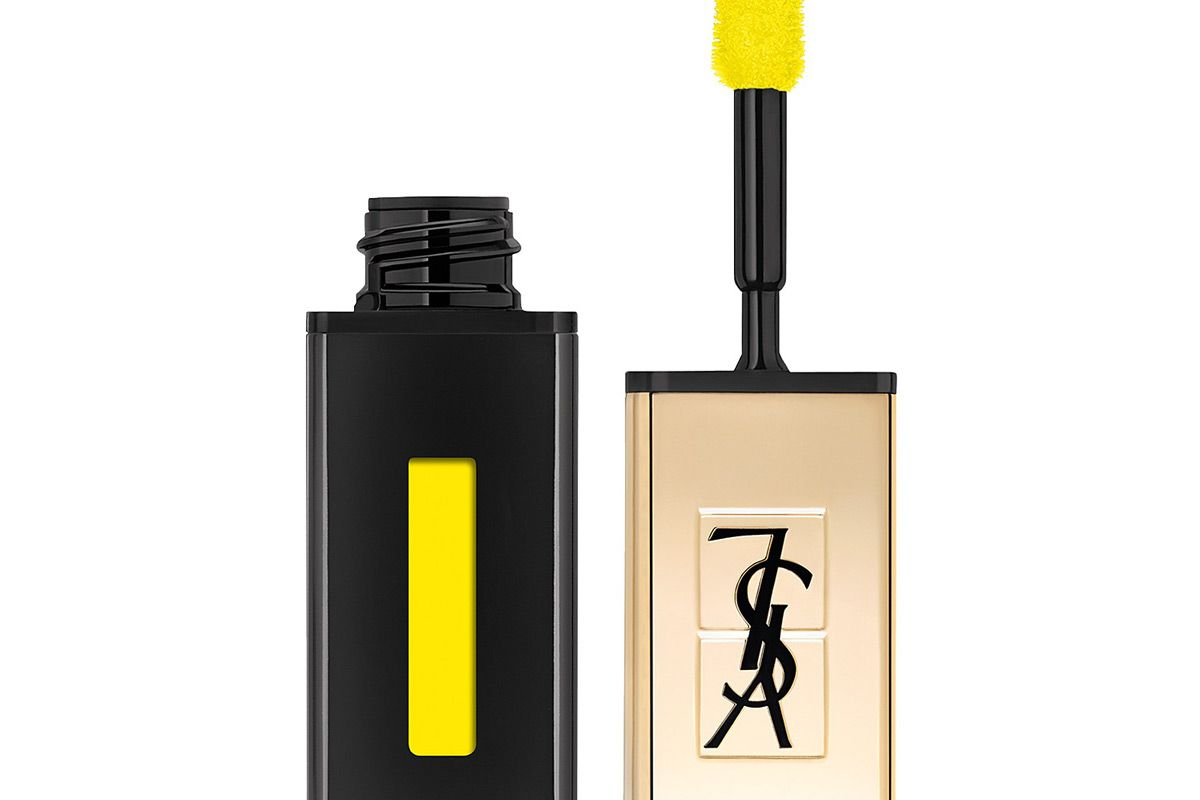 yves saint laurent glossy stain undercoat in yellow