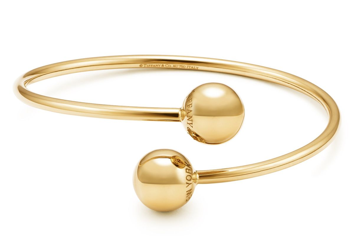 tiffany and co hardwear ball bypass bracelet