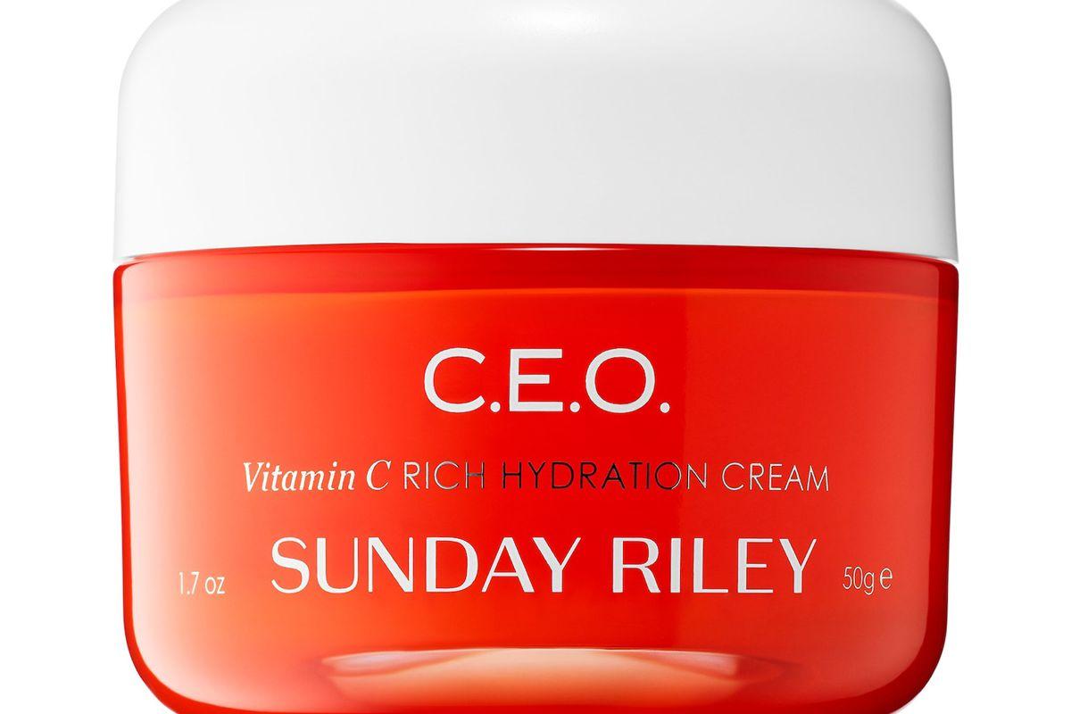 sunday riley ceo vitamin c hydration cream