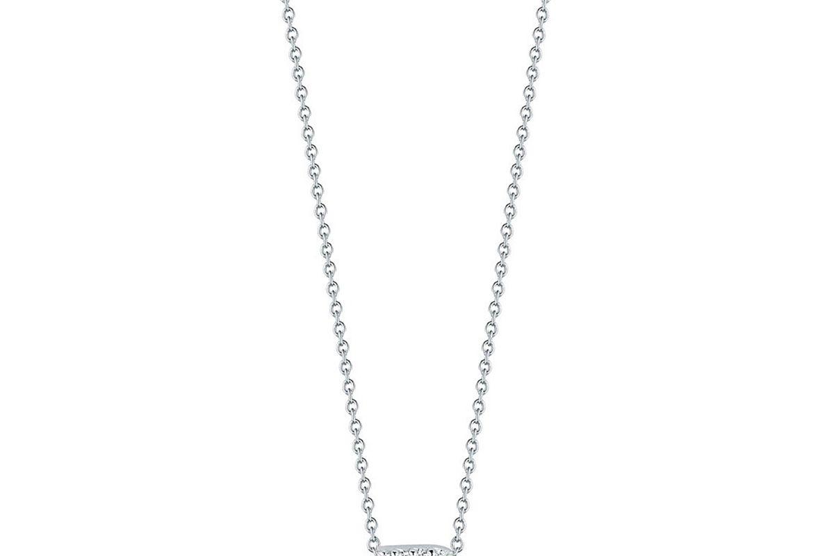 roberto coin diamond love letter necklace