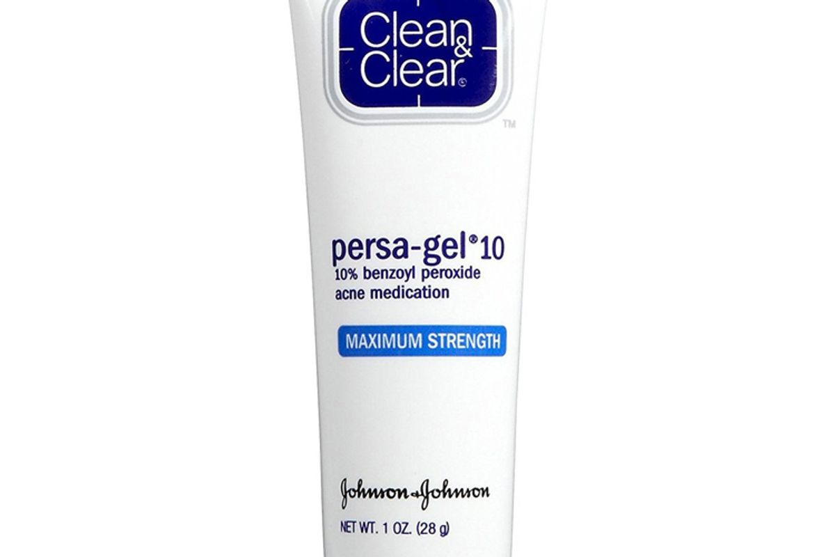clean and clear persa gel 10 acne medication with benzoyl peroxide blooming peony and cherry