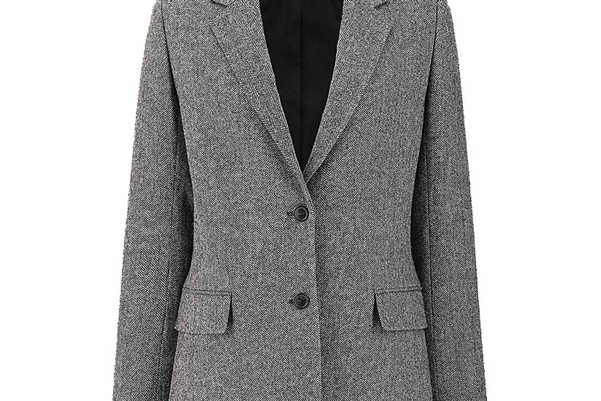 uniqlo women tweed jacket