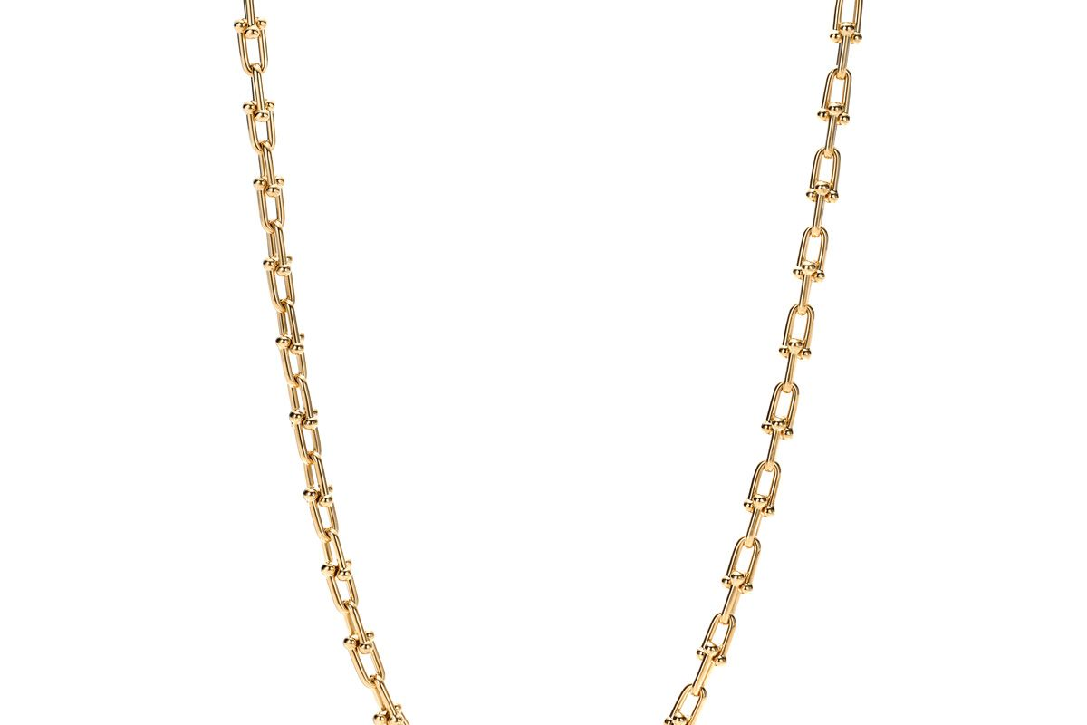 tiffany and co hardwear link necklace