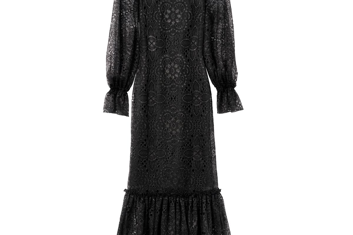 h&m x the vampire's wife long lace dress