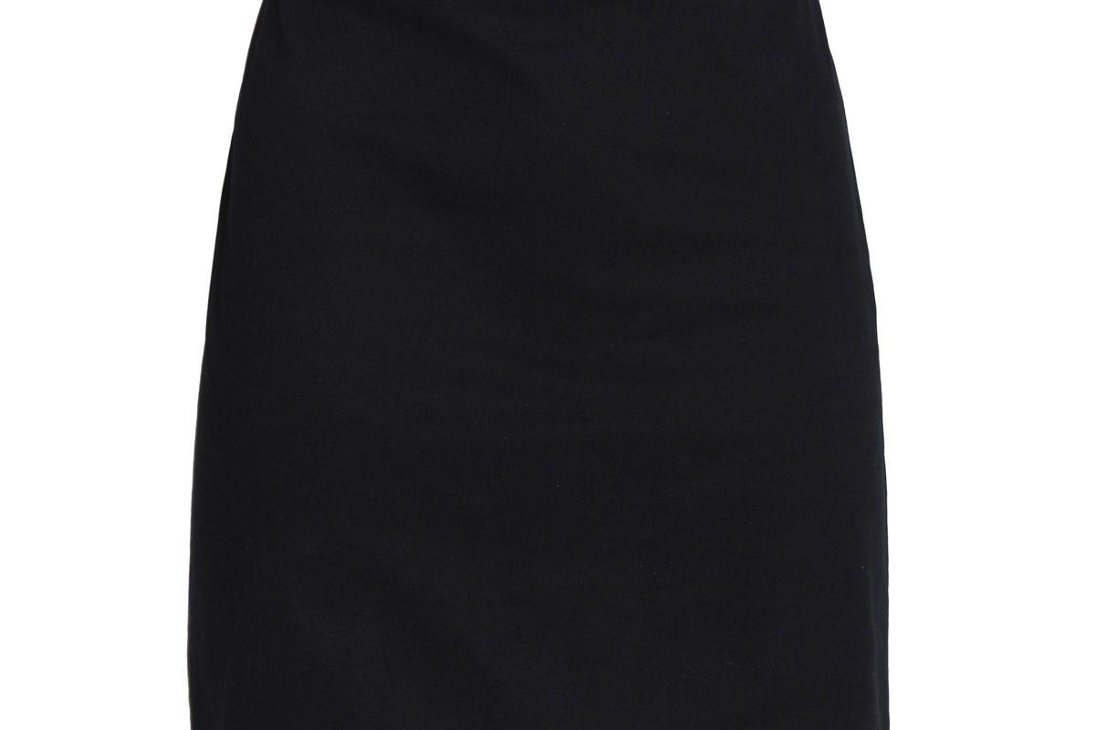 love moschino buckled cotton blend mini skirt