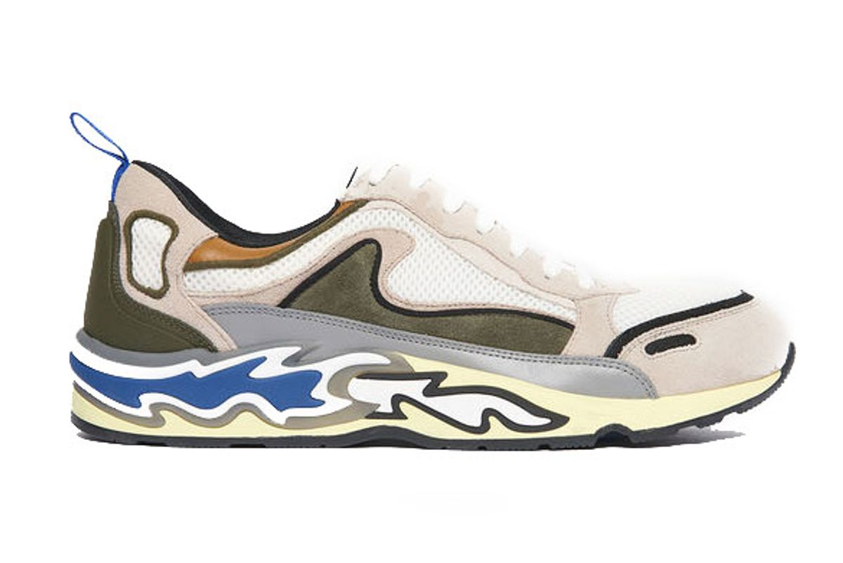 sandro trainers with flames on the soles