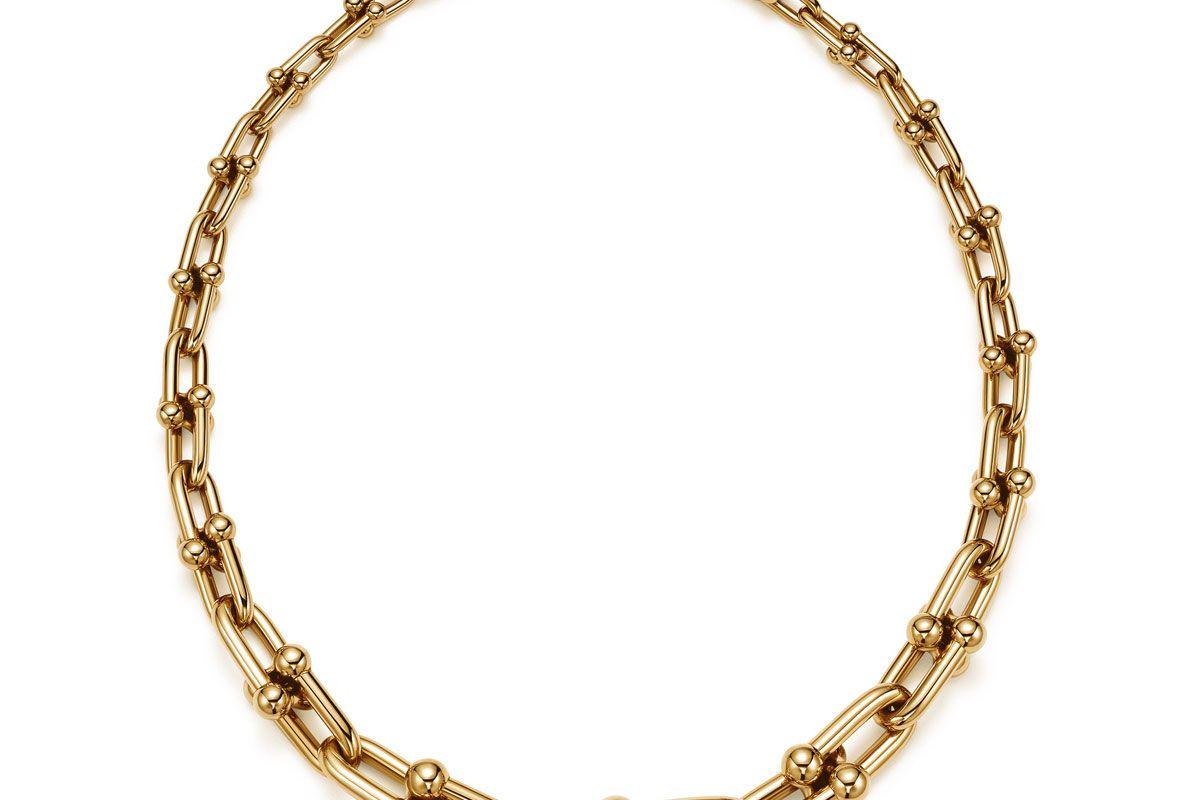 Graduated Link Necklace
