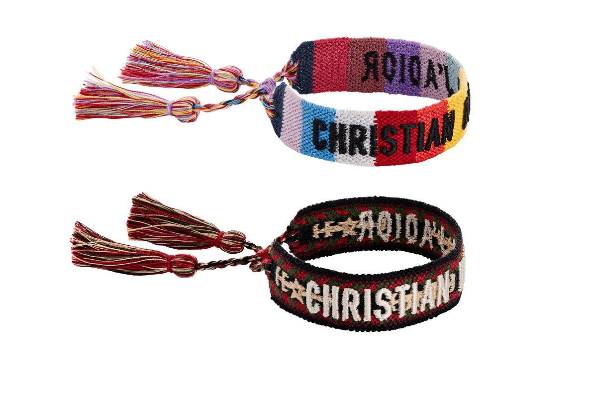 set of christian dior j'adior bracelets