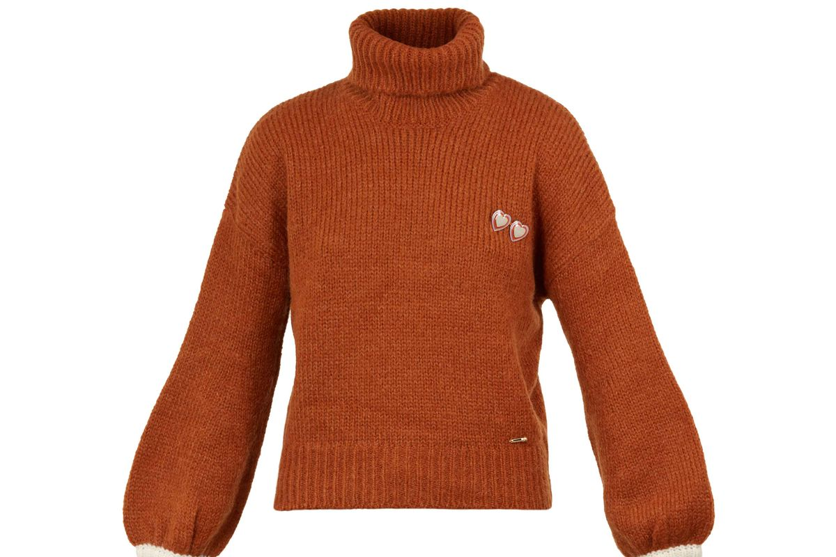 ted baker moliea mohair striped knit